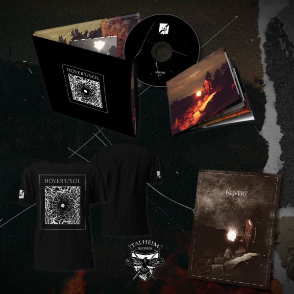 Hovert - SOL Digipak CD + T-Shirt + Poster Presentation