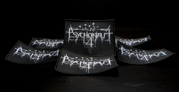 Psychonaut 4 - Logo 铁刺绣 Patch White