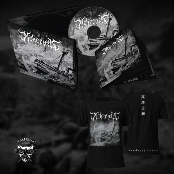 Acherozu - Vendetta Ocean Digipak CD + T-Shirt Präsentation