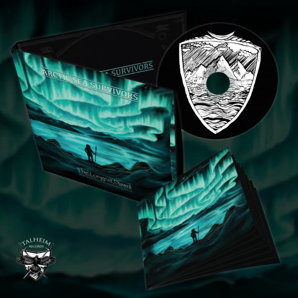 Arctic Sea Survivors - The Longest Dawn (the souls burn in everlasting fires) CD Digipak Presentation
