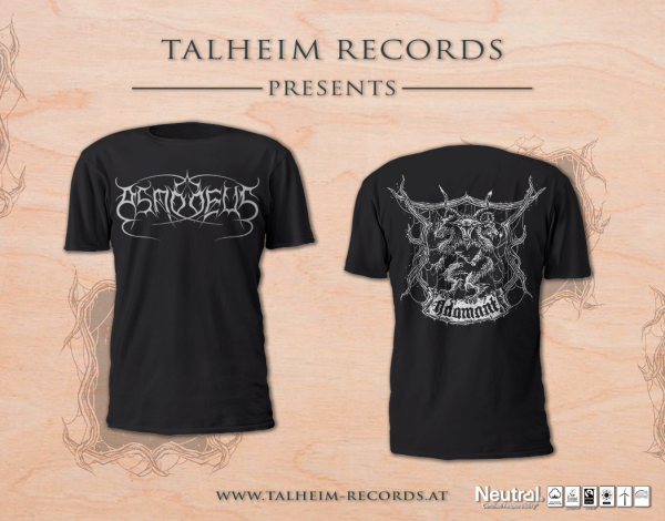 Asmodeus - Adamant T-Shirt Presentation