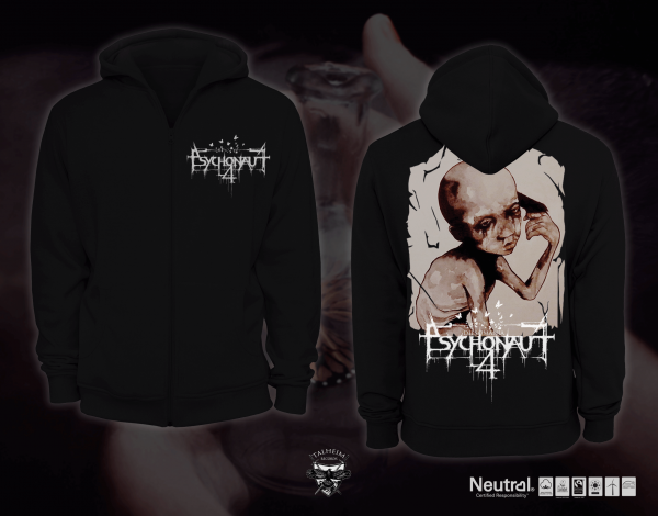 Psychonaut 4 - Dipsomania Hooded Zip Sweater (Men) Presentation