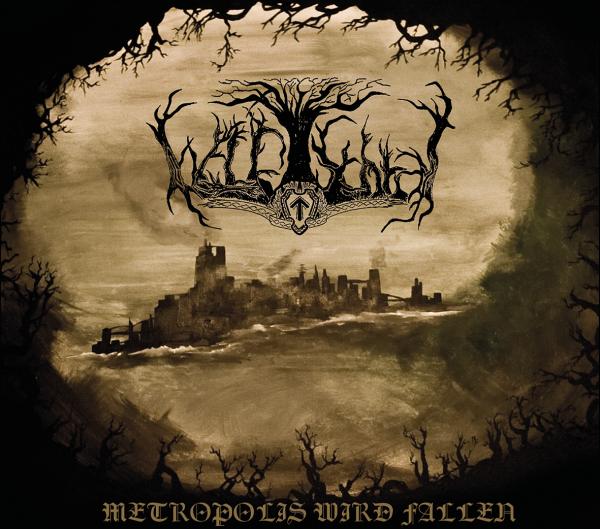 Waldschrat - Metropolis wird fallen Cover