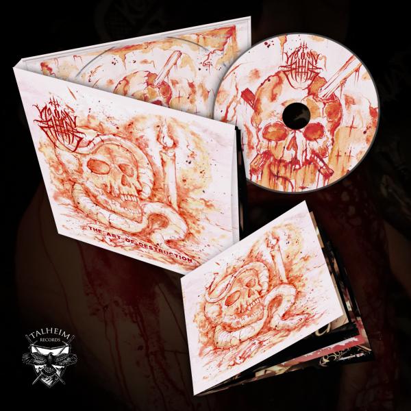 Northorn - The Art Of Destruction CD Digipak Präsentation