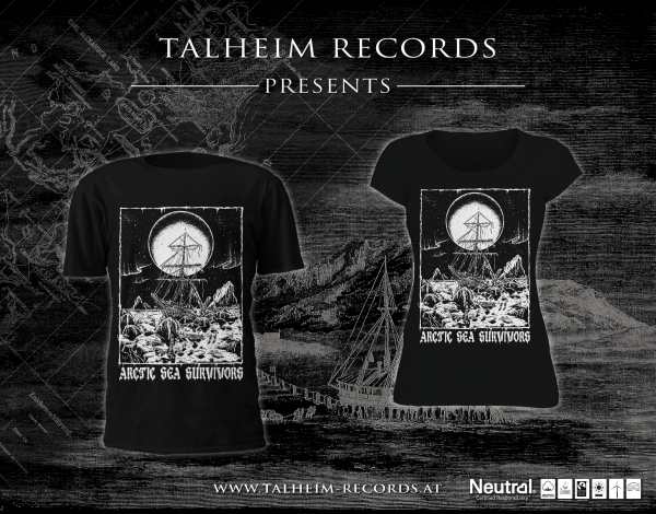 Arctic Sea Survivors - Into Barren Lands T-Shirt Presentation